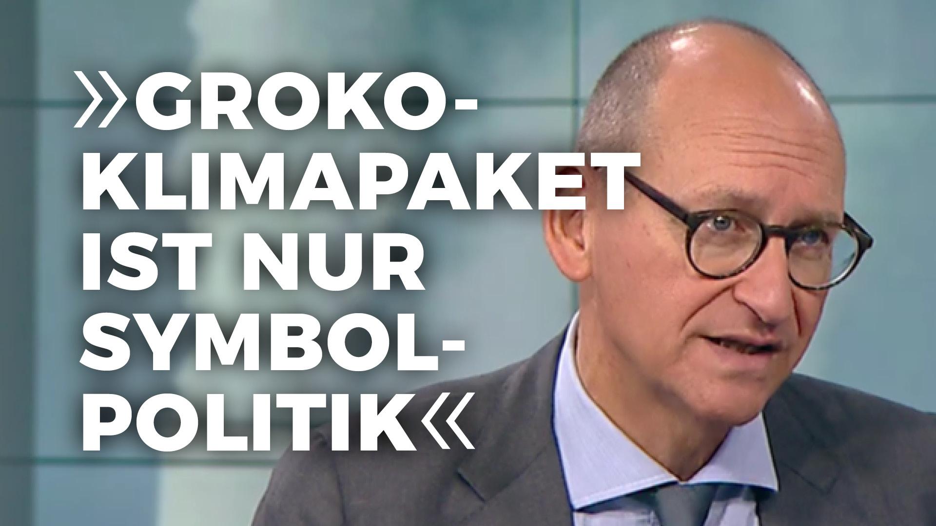 GroKo-Klimapolitik ist nur Symbolpolitik