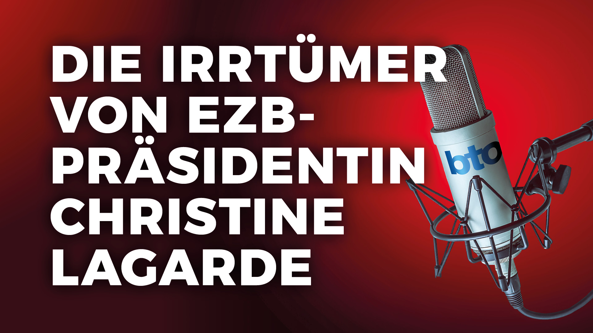Die Irrtümer von EZB-Präsidentin Christine Lagarde