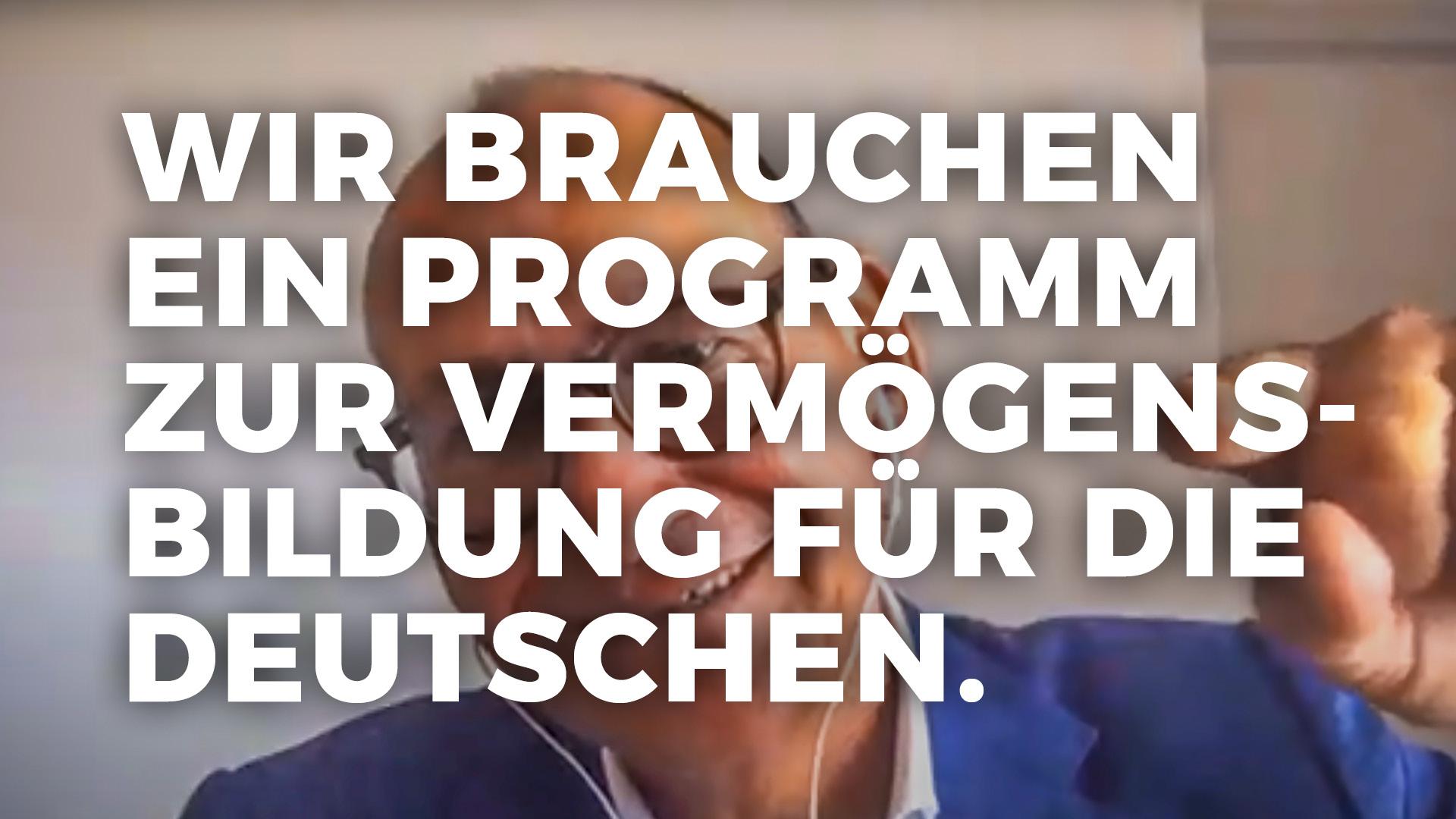 Vermögen für die deutschen Bürger