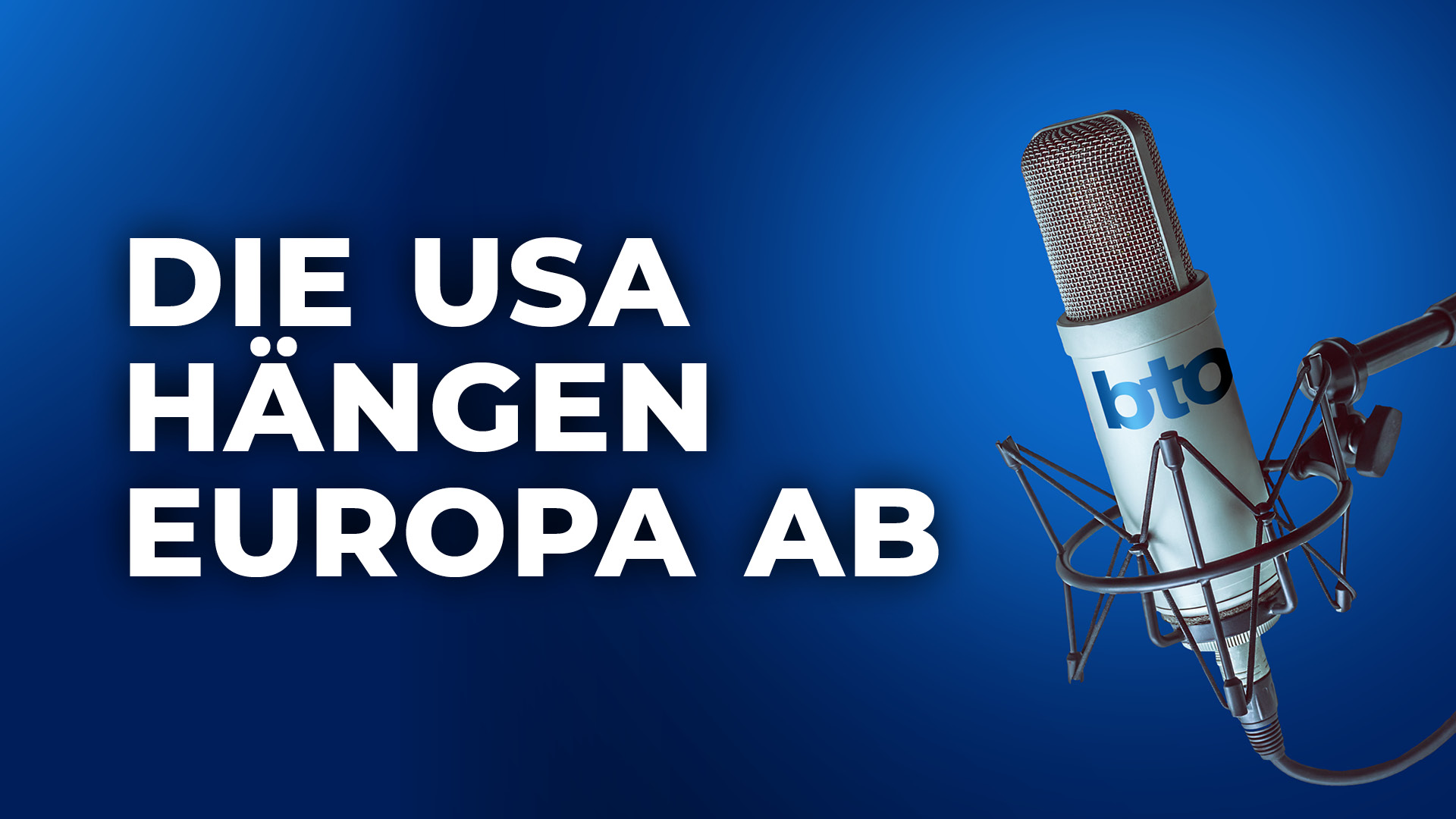 Die USA hängen Europa ab