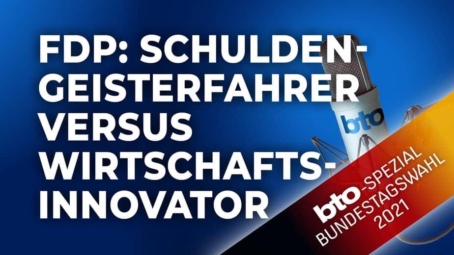 FDP: Schuldengeisterfahrer versus Wirtschaftsinnovator